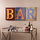 SEI WS8928 LED Bar Sign - Set of 3