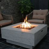 Elementi OFG103 Manhattan Fire Pit Table - Natural Gas