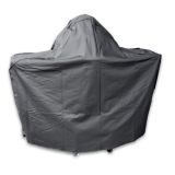 """Blaze Cover for the 20"""" Kamado On Cart with Round Shelf"""