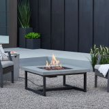 Real Flame Cement Brenner LP/NG Fire Table