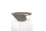 """36"""" Round Tapered Water Bowl in Ash"""