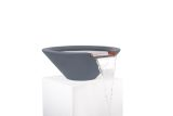 """36"""" Round Tapered Water Bowl in Gray"""