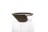 """36"""" Round Tapered Water Bowl in Chocolate"""