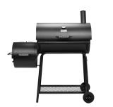 Royal Gourmet CC1830F 30In Charcoal Grill With Offset Smoker