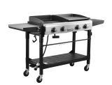 Royal Gourmet GD401 Premium 4-Burner Outdoor Gas Grill And Griddle