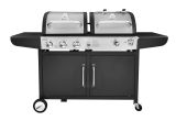 Royal Gourmet ZH3002S Premium Stainless Steel 3-Burner Gas/ Charcoal Combo Grill