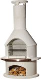 Buschbeck Rondo White Outdoor barbeque fireplace