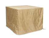 Square Tan Polyester Protective Cover