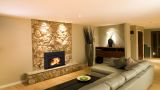 "Fusion FN-01 Fireplace Insert with 40"" x 26"" Surround Package2"