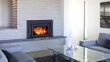 "Fusion FN-02 Fireplace Insert with 40"" x 26"" Surround Package2"