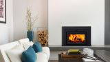 "Fusion 18FN-01 Fireplace Insert with 34"" x 23"" Surround Package3"