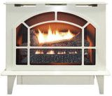 Buck Stove Townsend Ii Vent Free Steel Stove in Almond - Natural Gas