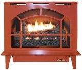 Buck Stove Townsend Ii Vent Free Steel Stove in Terracotta - NG