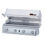 GJK Series Built-In Natural Gas Grill with Hybrid Burners - GRILL ONLY
