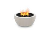 Pod 30 Freestanding Firepit-Propane Gas Fuel-Bone Finish