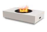 Martini Freestanding Firepit-Natural Gas Fuel-Bone Finish