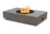 Martini Freestanding Firepit-Natural Gas Fuel-Natural Finish
