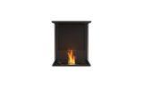 EcoSmart ESF.FX.18BY Flex Bay Bioethanol Firebox-18BY-Black Finish