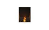 ESF.FX.18SS Flex Single Sided Bioethanol Firebox-18SS-Black Finish