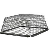 "25"" x 25"" Black Galvanized Roof VentGuard/Exclusion Screen - 3 Pack"