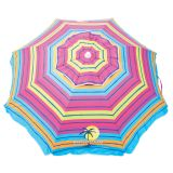 WUB76MV-178-1 6.5 ft UPF 50 plus Sun Protection Tilt Umbrella- Anchor