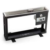 """Trough Steel Display Stand for Indoor Display of 36"""" Linear Trough Pan"""