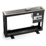 HPC Fire Trough Steel Display Stand w/ 36SSEI-TRGH-NG/120VAC Insert
