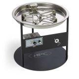 HPC Fire Round Steel Display Stand w/ PENTA25FPPK-FLEX-NG Insert