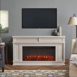 Real Flame 4020E Torrey Electric Fireplace - Bone White
