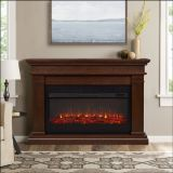 Real Flame 8080E Beau Electric Fireplace - Dark Walnut
