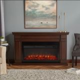 Real Flame 8230E Carlisle Electric Fireplace - Chestnut Oak