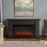 Real Flame 8230E Carlisle Electric Fireplace - Gray