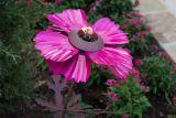 Desert Steel products 409-009 Cosmos Garden Torch -Purple
