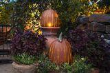Desert Steel products 411-100 Pumpkin Luminary -XL Orange