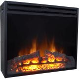 """28"""" Freestanding 5116 BTU Electric Fireplace Heater Insert with Remote"""
