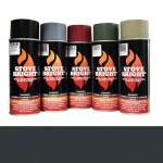 Forrest Green - 1200 Degree Wood Stove High Temp Paint -