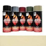 Almond - 1200 Degree Wood Stove High Temp Paint -