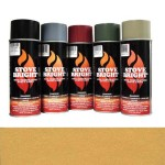 Gold - 1200 Degree Wood Stove High Temp Paint -