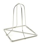 Charcoal Companion CC3005 SS Folding Beer Can Chicken Rack