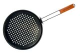 Charcoal Companion CC3060 Non-Stick Pizza Grilling Pan