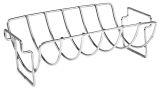 Charcoal Companion CC3096 Stainless Steel Reversible Roasting/Rib Rack