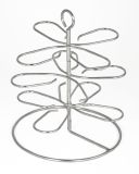 Charcoal Companion CC3140 3-Tier Stainless Steel Oyster Rack
