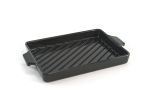 Charcoal Companion CC3804 Flame-Friendly Ceramic Grilling Pan