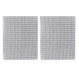 Charcoal Companion CC4143 Non-Stick Mesh Grilling Sheet - Set of 2