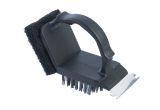 Charcoal Companion CC4152 Plastic 2 In 1 Safe-Scrub Grill Brush