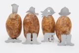 Charcoal Companion CC5118 4 Large Potato People