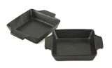 Charcoal Companion CC3802 Flame-Friendly Ceramic Bakers - Set 2
