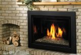 Direct Vent IPI Fireplace Insert with Glass Support Platform - NG