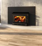 Osburn 2400 Wood Insert w/Large Faceplate and Black Trims