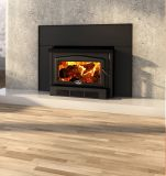 Osburn 2400 Wood Insert w/Medium Faceplate and Black Trims